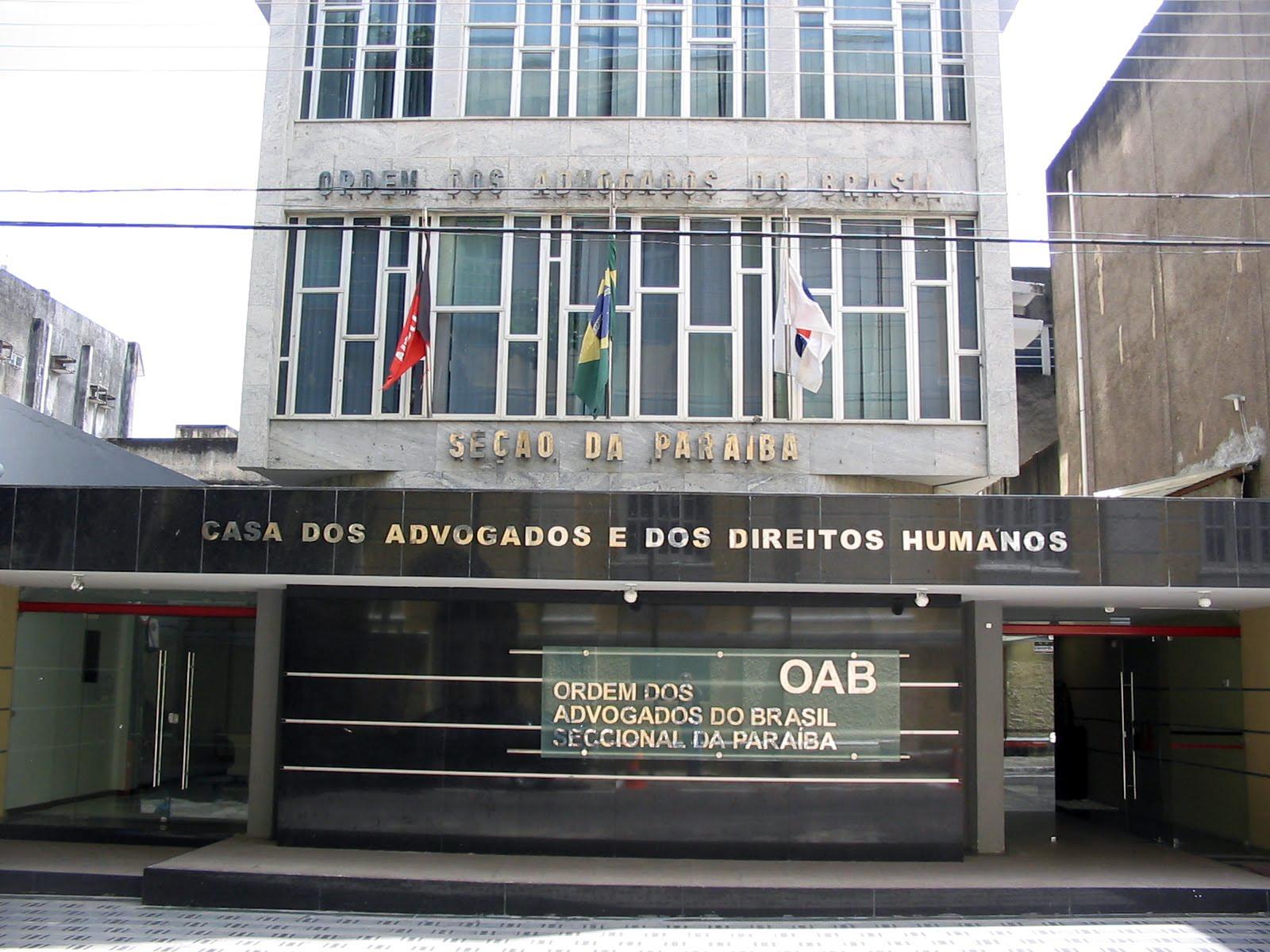 Em nota, OAB-PB rebate críticas do Sindicato dos Médicos a advogado