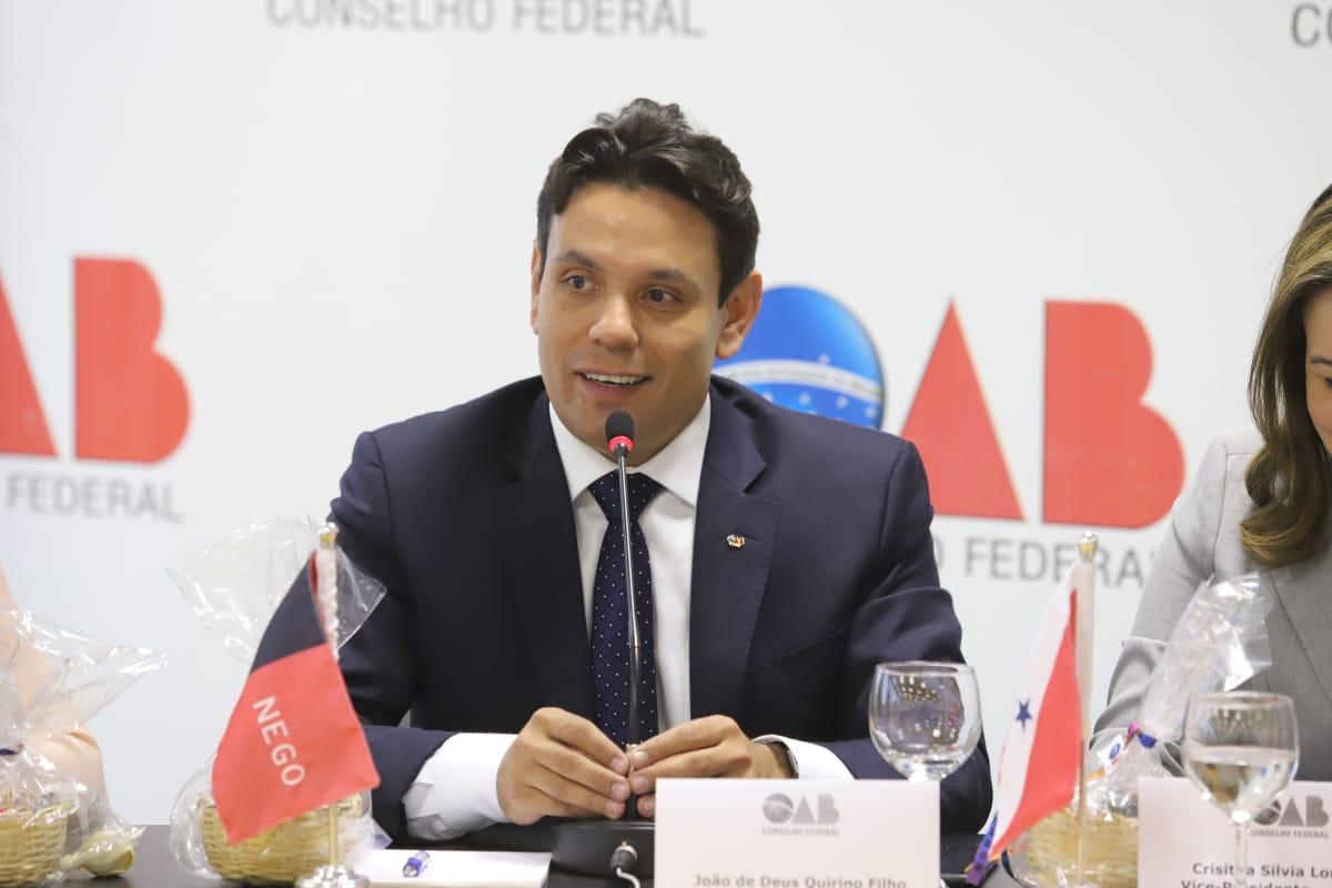 João de Deus participa de I Colégio de Vice-Presidentes dos Conselhos Seccionais da OAB em Brasília