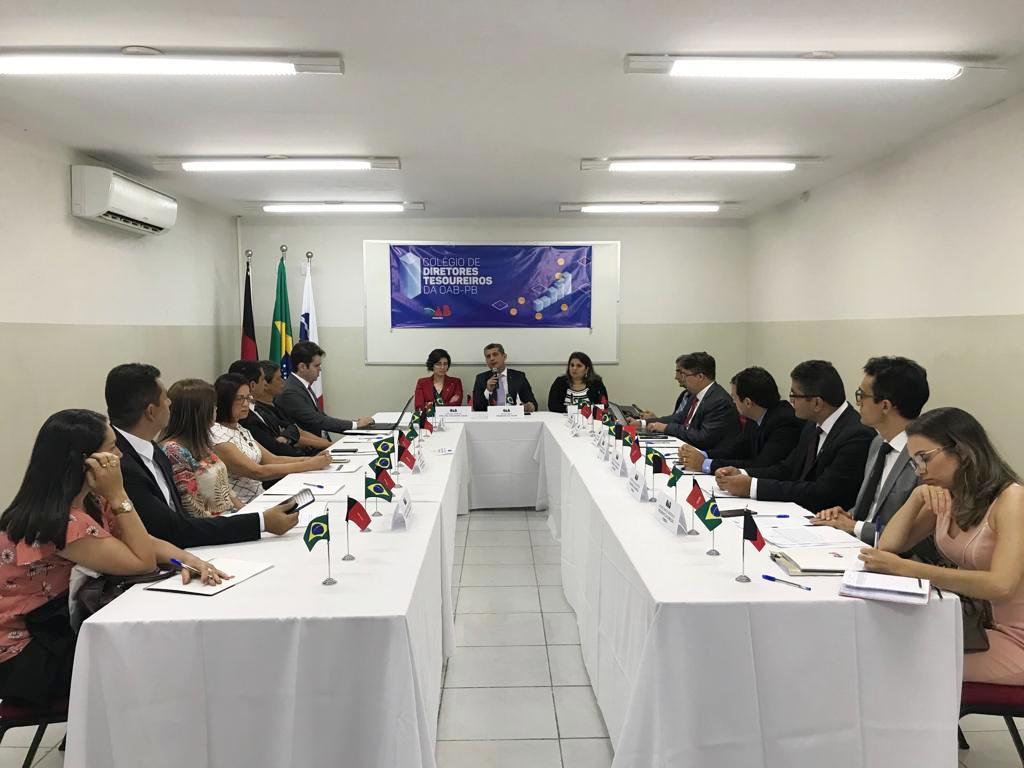OAB-PB realiza I Colégio de Diretores Tesoureiros de Subseções