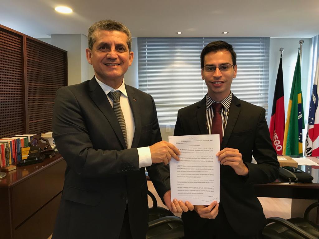 OAB-PB firma convênio com empresa de transformação digital para auxiliar jovens advogados
