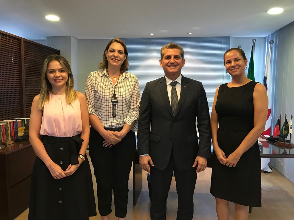 Comissão se reúne com Paulo Maia e discute instalação da Câmara de Mediação e Arbitragem da OAB-PB