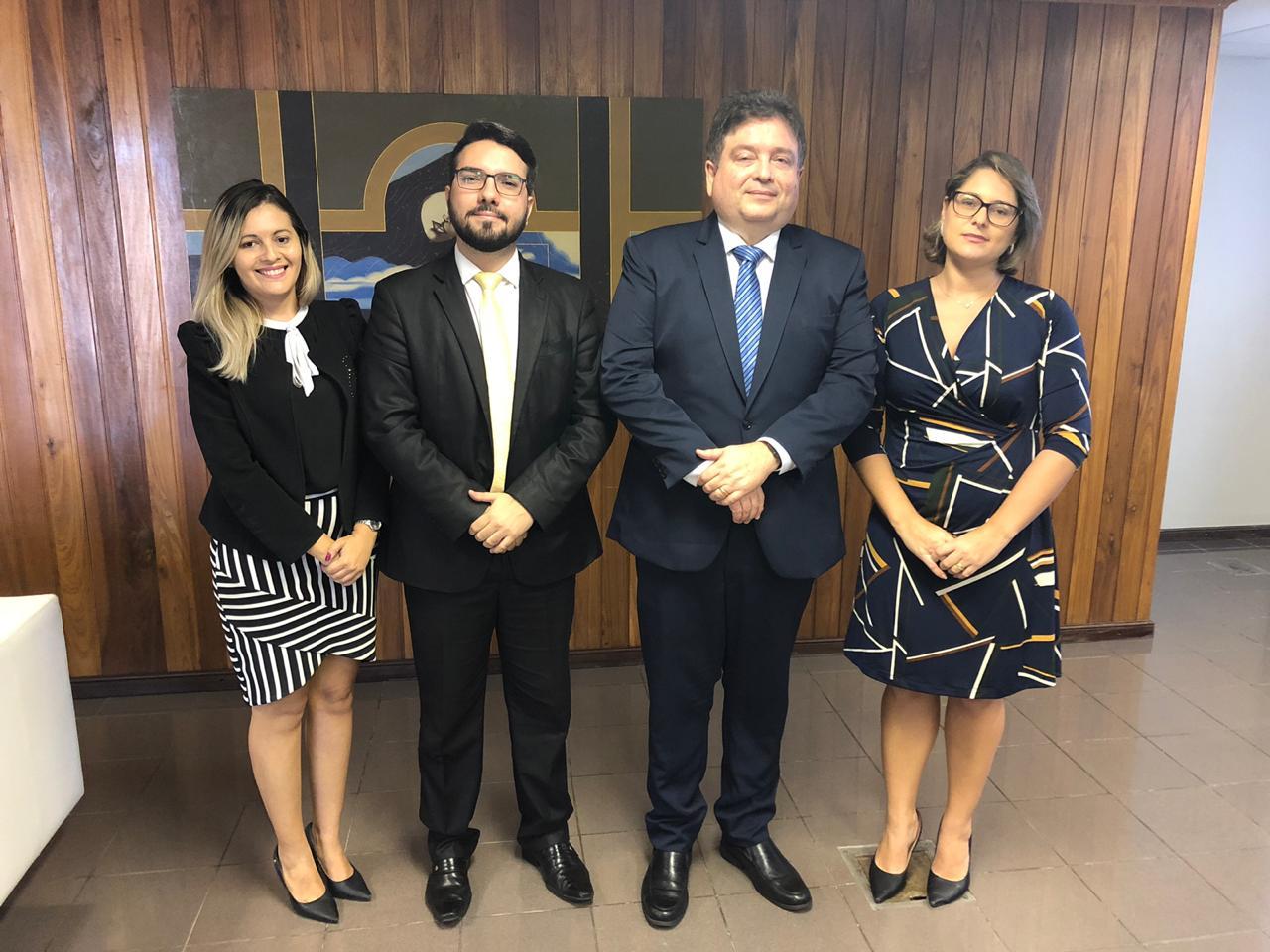 Comissão de Justiça do Trabalho solicita ao presidente do TRT melhorias no novo fórum trabalhista de João Pessoa
