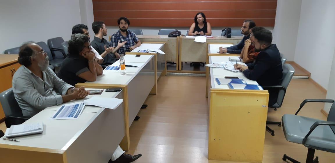 OAB-PB recebe representantes do CNJ e do Programa das Nações Unidas para o Desenvolvimento