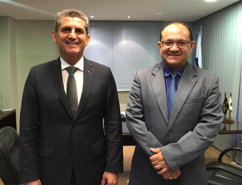 Paulo Maia recebe visita de cortesia do presidente da Subseção de Princesa Isabel