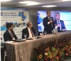 Paulo Maia defende fortalecimento da advocacia pública municipal durante congresso em JP
