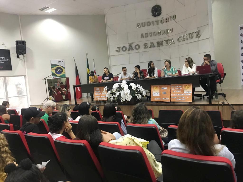 OAB-PB realiza seminário sobre abuso e exploração sexual de crianças e adolescentes