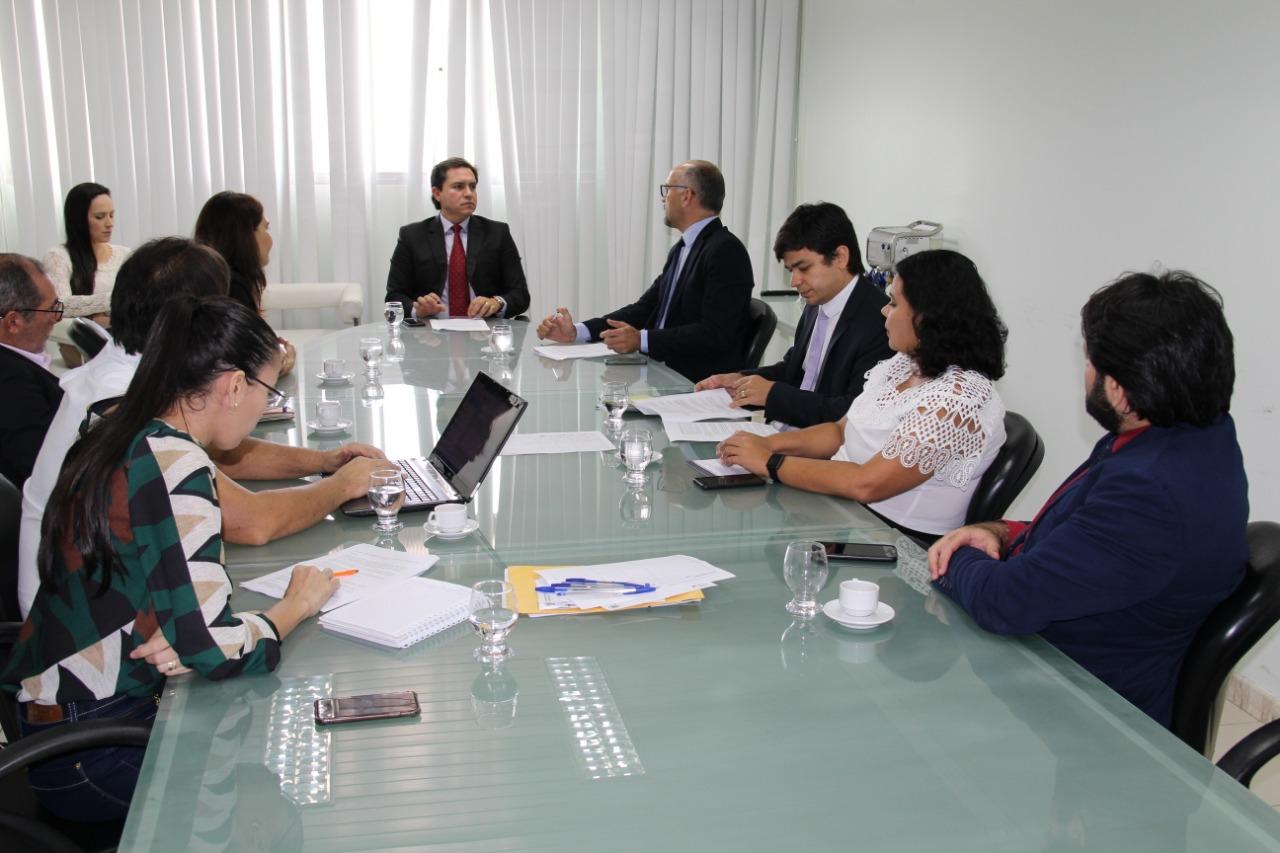 OAB-PB se reúne com SEDS e discute segurança pública e proteção dos direitos humanos