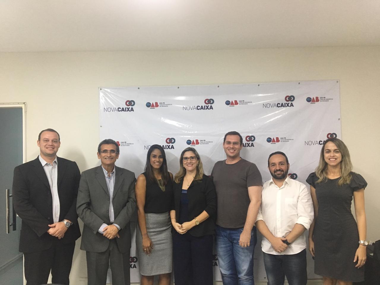 Comissão de Ensino Jurídico firma parceria com a Caixa de Assistência dos Advogados e visitará IES da Paraíba