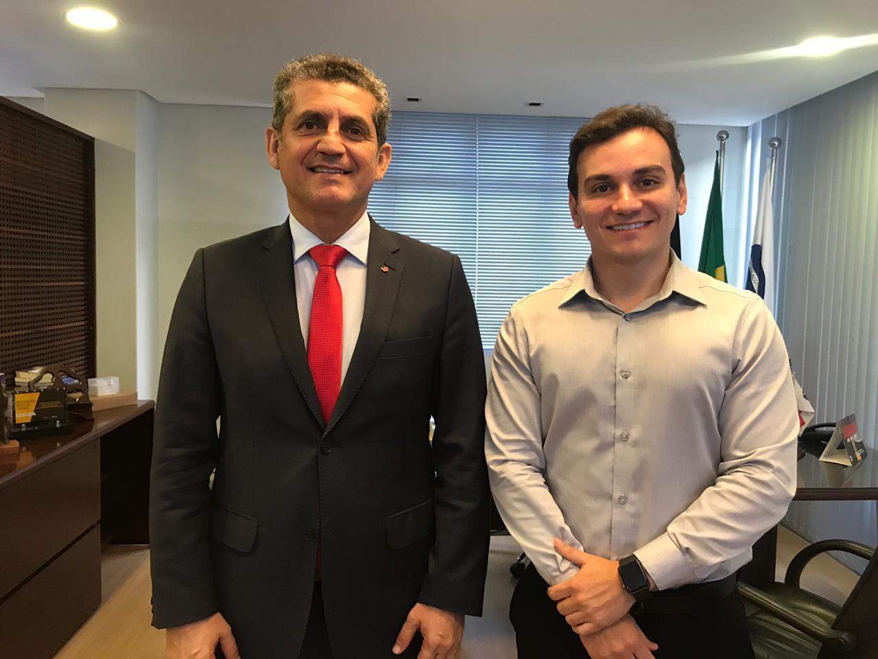 Paulo Maia se reúne com Comissão e discute ações para advocacia previdenciária