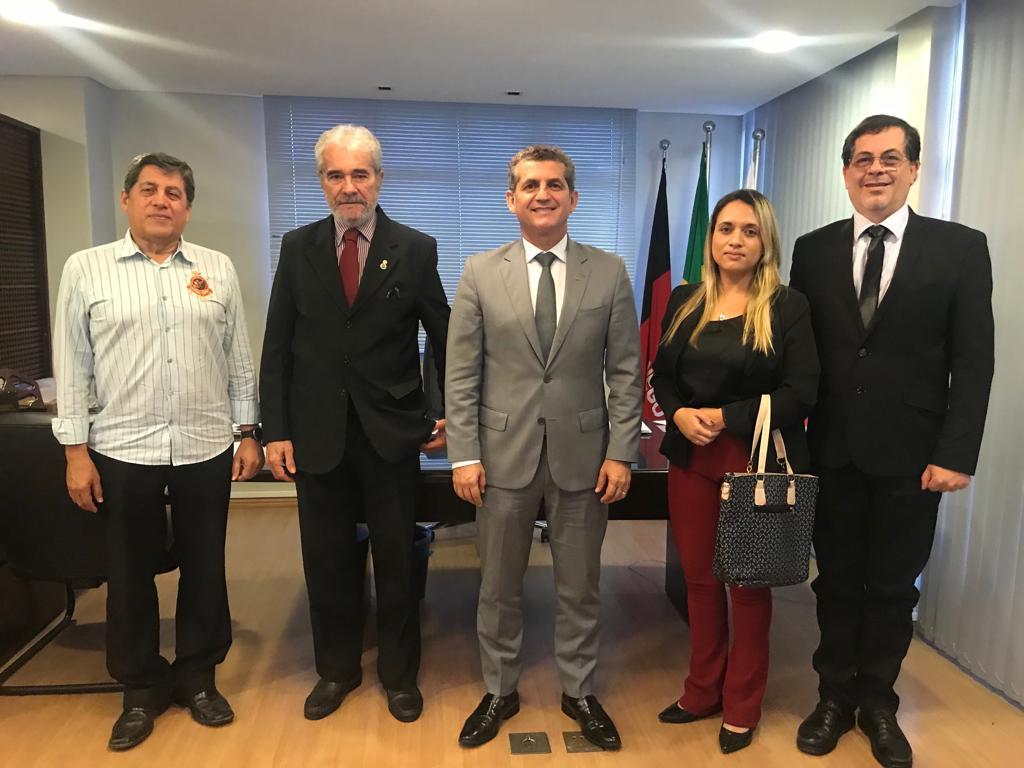 Presidente da OAB-PB se reúne com Conselho Regional de Economia da Paraíba