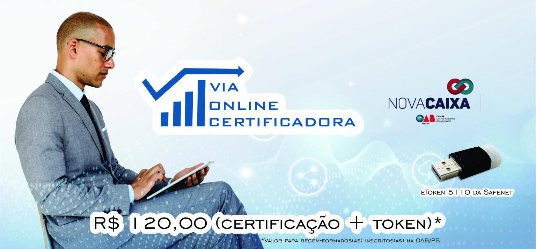 Nova Caixa oferece Certificado Digital mais barato da Paraíba em Campina Grande