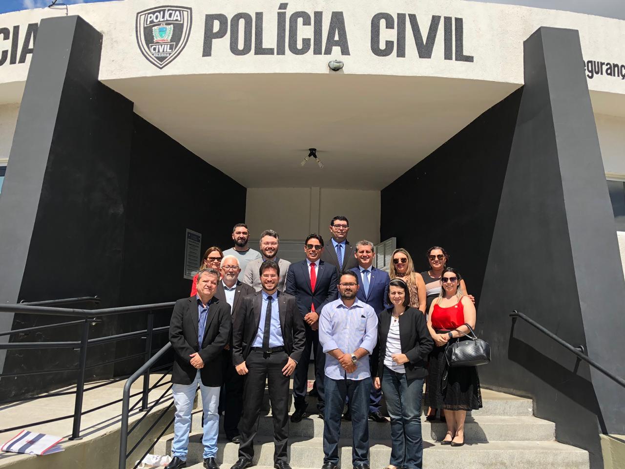 OAB-PB solicita instalação de Sala da Advocacia na nova Central de Polícia de Cajazeiras
