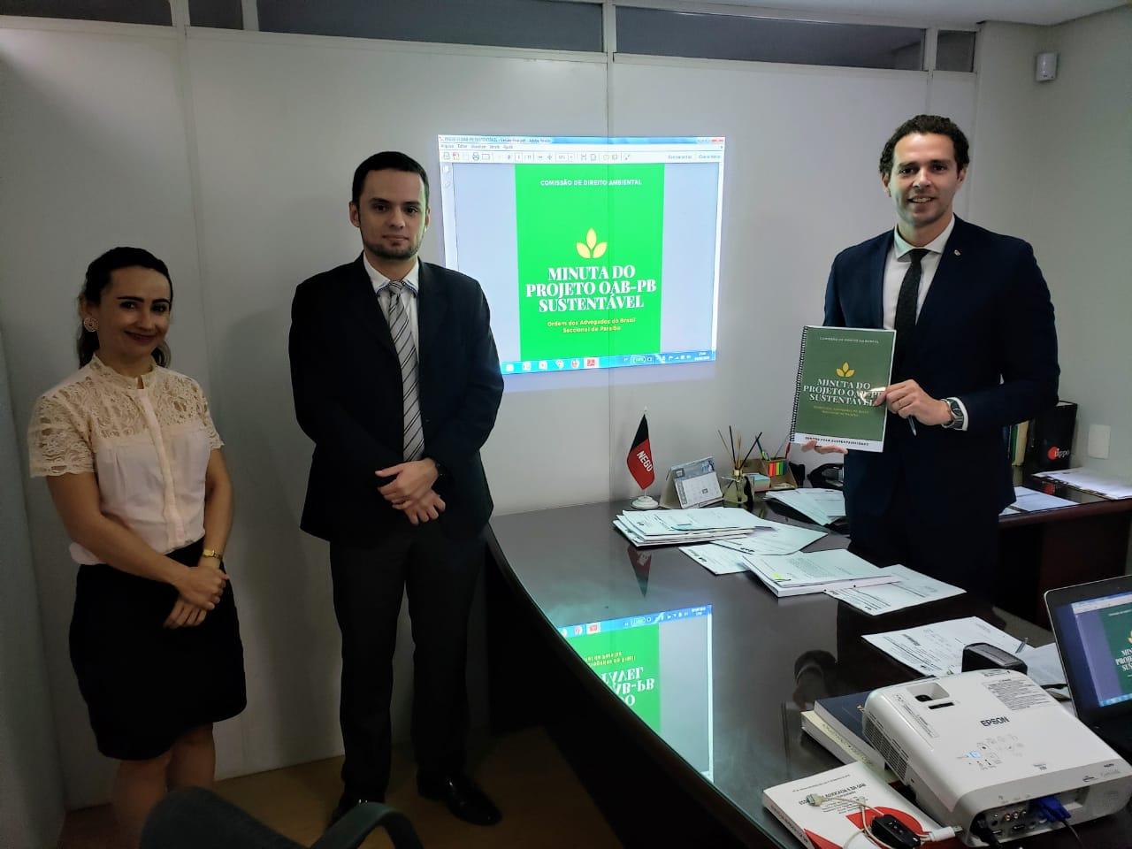 OAB-PB cria programa de educação para sustentabilidade e qualidade de vida