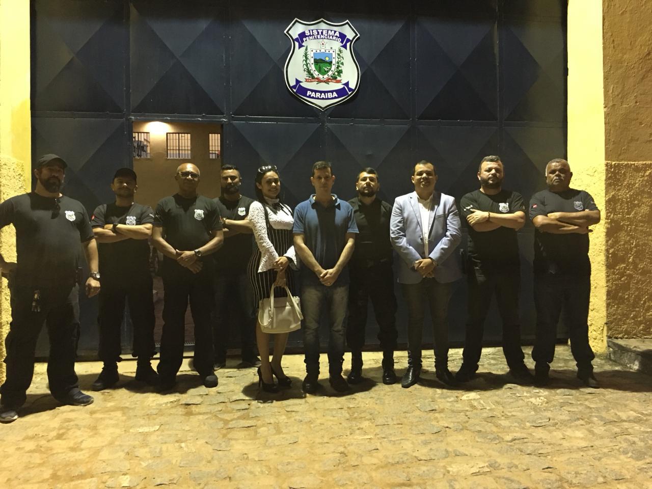 Comissão de Justiça Criminal visita unidades prisionais de Campina Grande e Queimadas