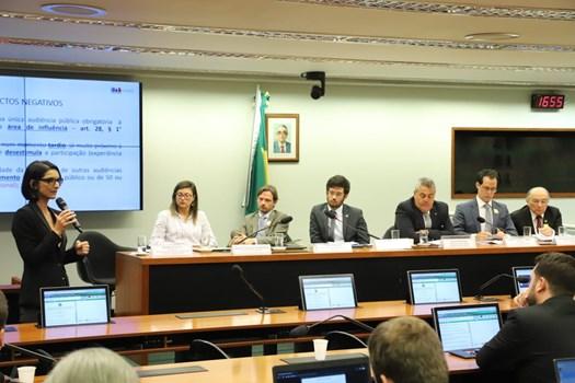 Marina Gadelha participa de audiência pública sobre novo marco legal do licenciamento ambiental