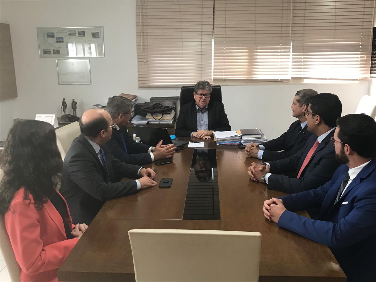 OAB-PB discute parcerias com o Estado e permuta de terreno para construção da Cidade da Advocacia