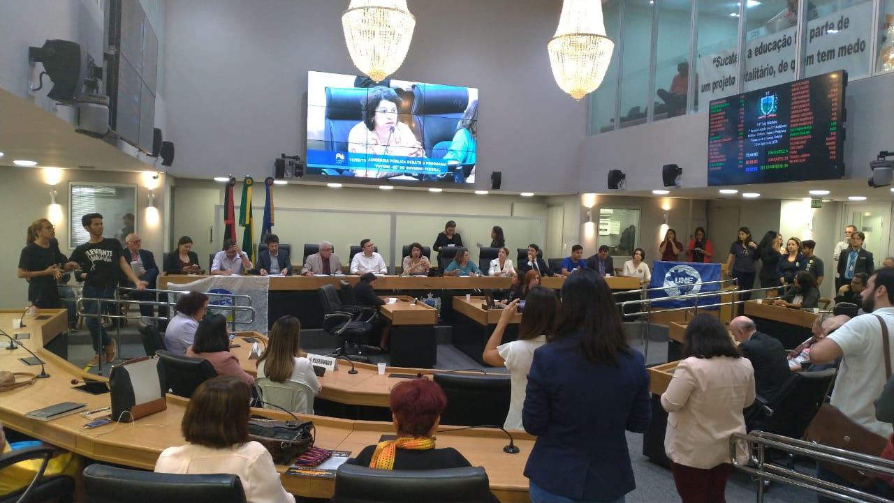 """Comissão de Ensino Jurídico participa de debate na ALPB sobre impactos do """"Future-se"""" na Educação"""