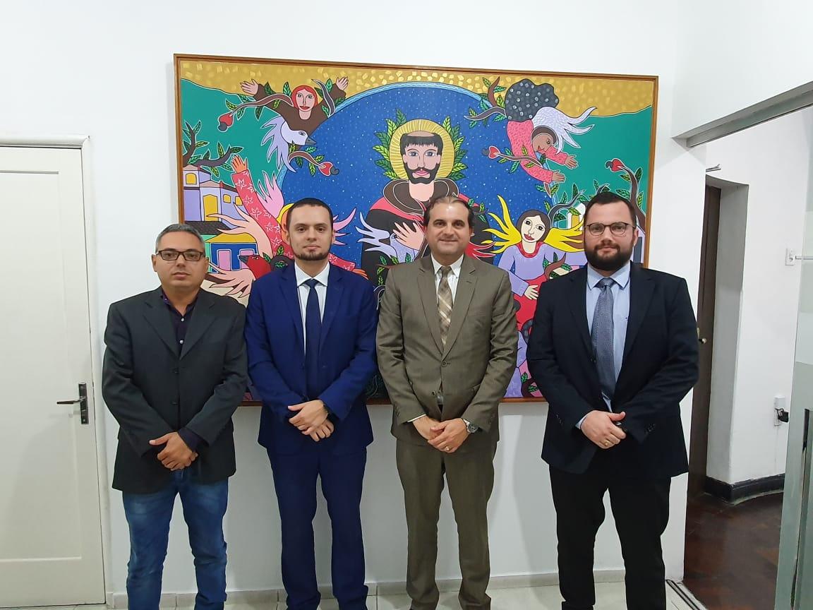 Comissão de Direito Ambiental da OAB-PB realiza reunião com superintendente da Sudema