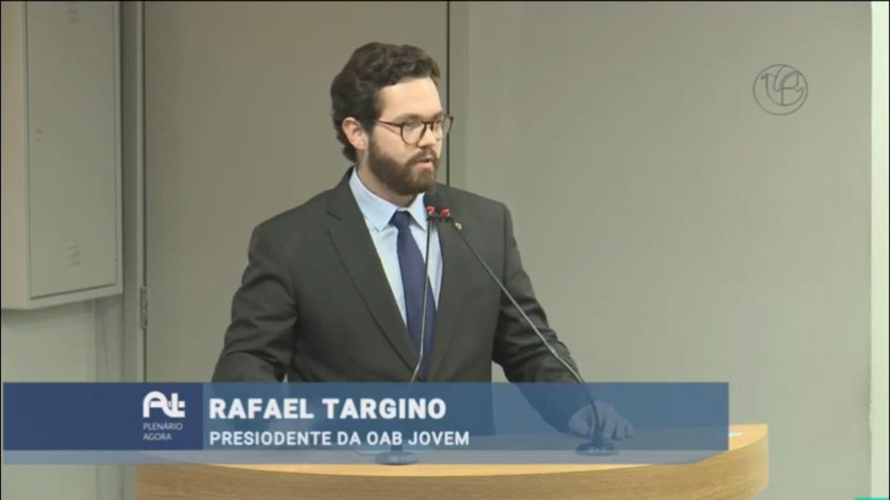 Presidente da CJA participa de sessão especial na AL em comemoração aos 70 anos da Faculdade de Direito da Paraíba