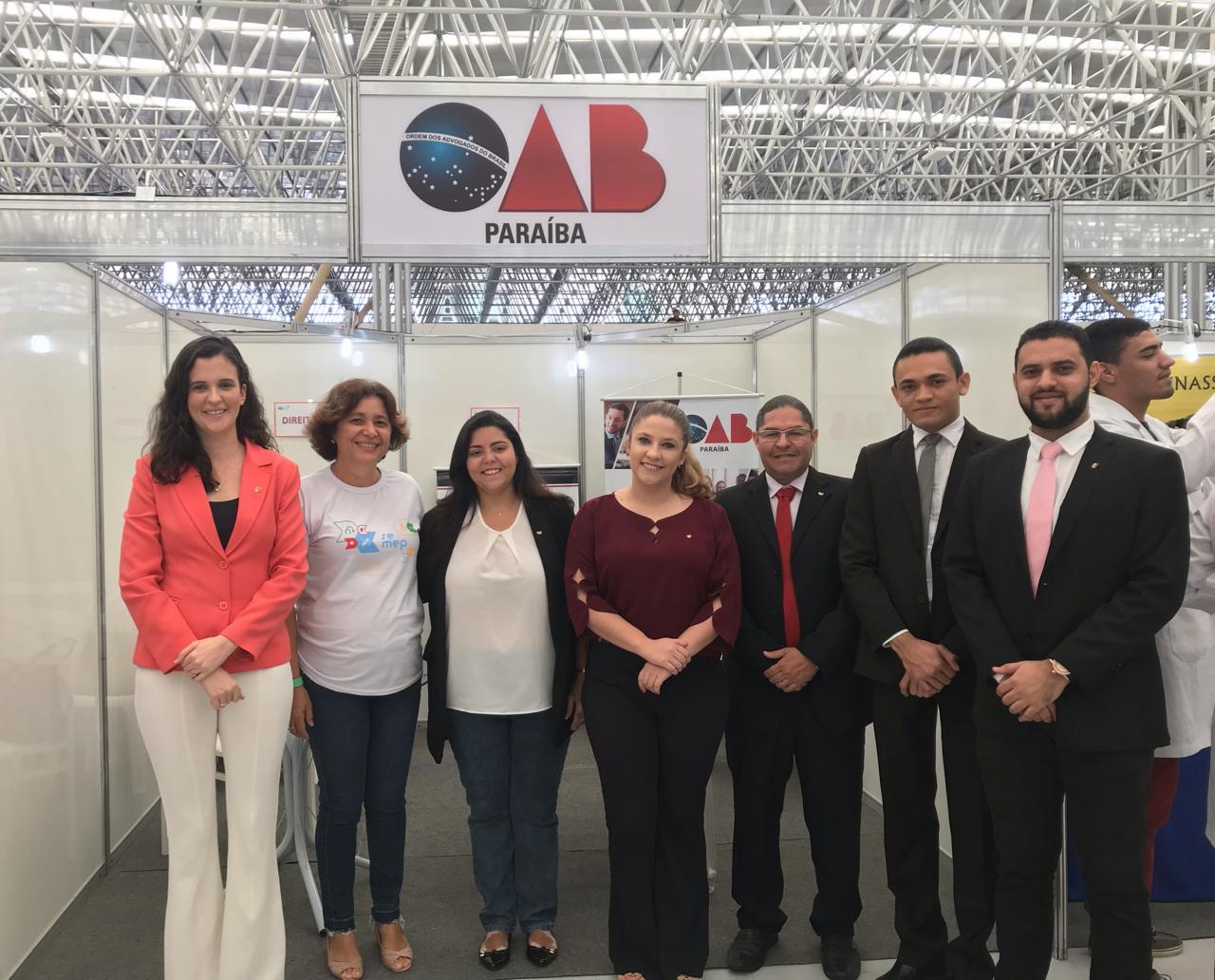 Comissão da Jovem Advocacia da OAB-PB participa do Seminário e Exposição sobre Profissões