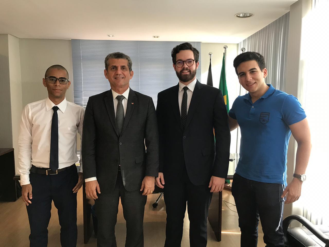 OAB-PB firma parceria com Empresa Júnior de Direito da UFPB