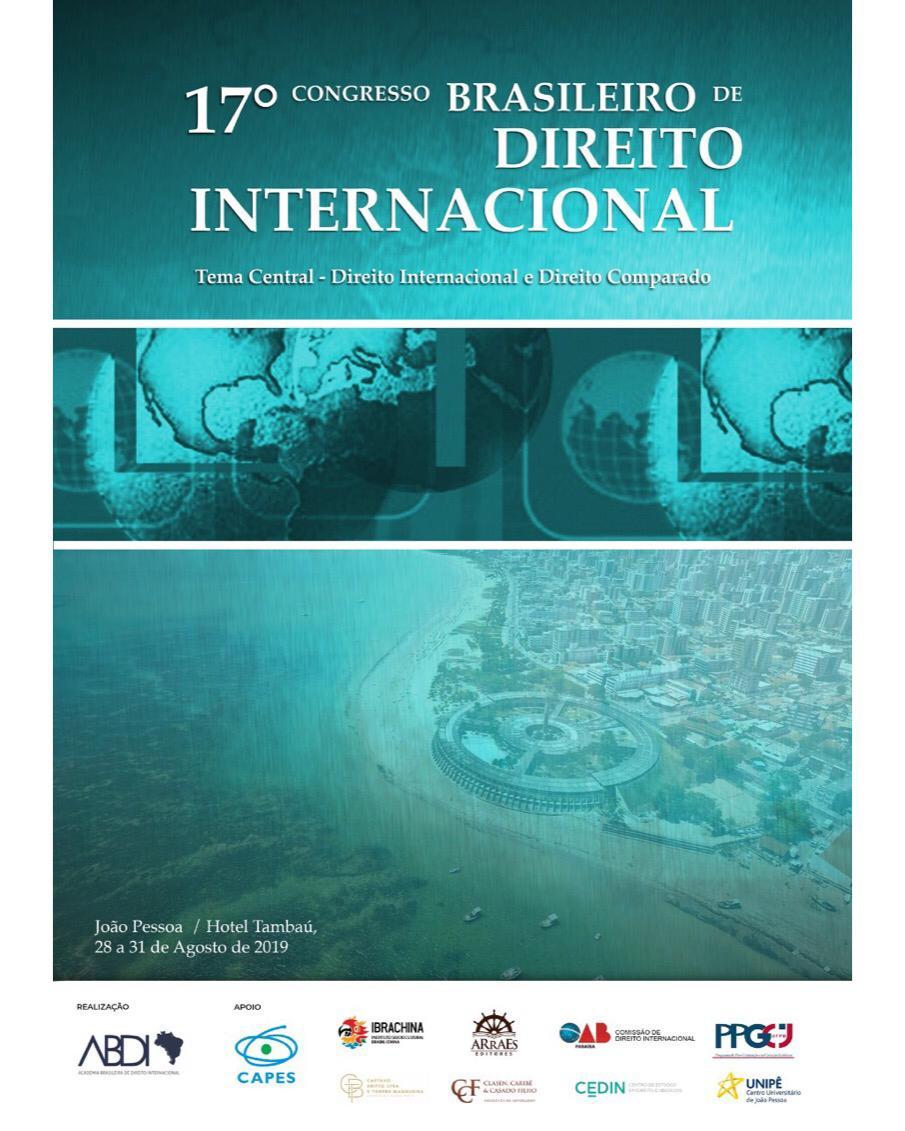 ABDI realiza 17º Congresso Brasileiro de Direito Internacional e advogados terão desconto em inscrição