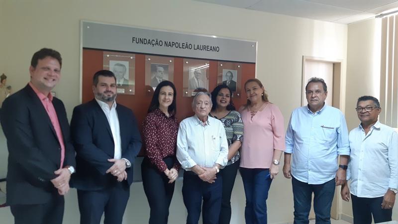 Comissões da OAB-PB visitam Hospital Napoleão Laureano e discutem condições de funcionamento da unidade hospitalar