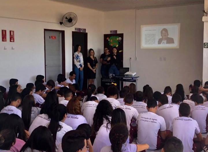 Comissão de Combate à Violência contra a Mulher realiza palestras sobre a Lei Maria da Penha em escolas de Piancó
