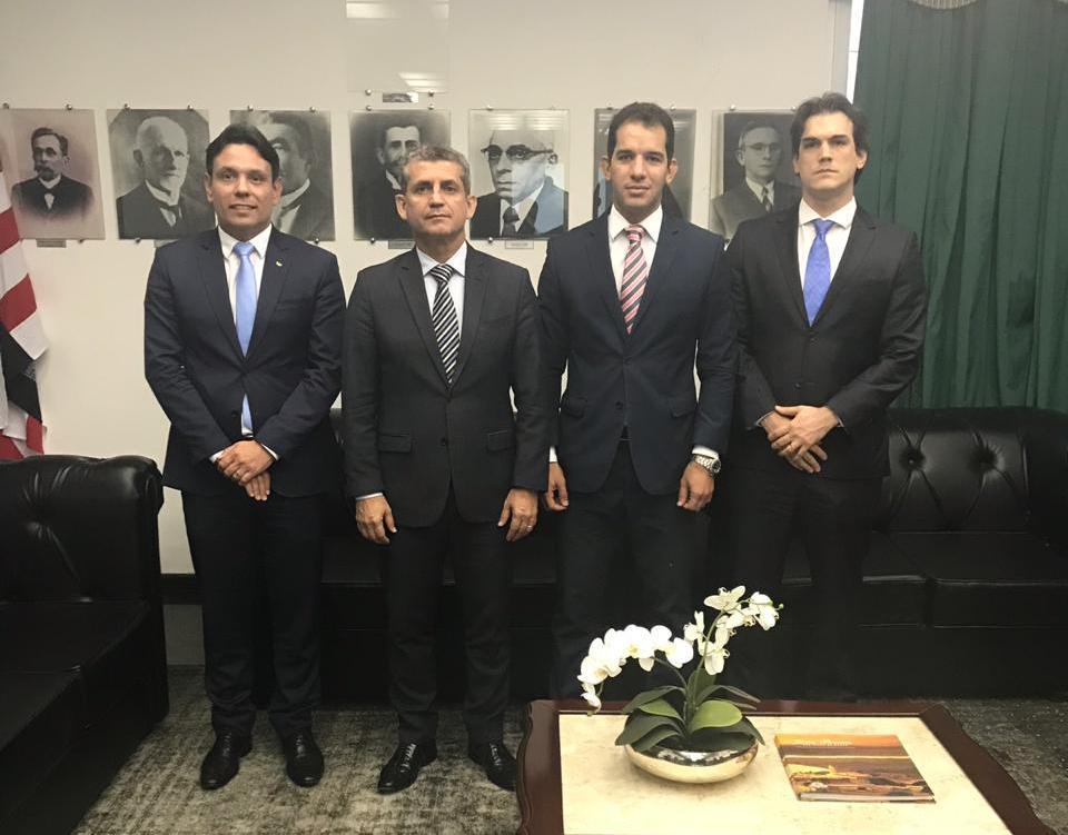 OAB-PB discute com diretor da Justiça Federal remoção, extinção e criação de Varas na Paraíba