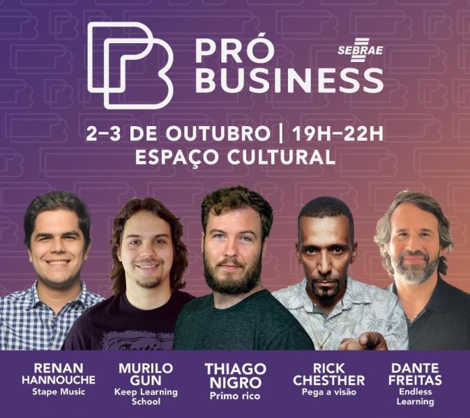 Sebrae Pró Business traz palestrantes renomados para João Pessoa; participe