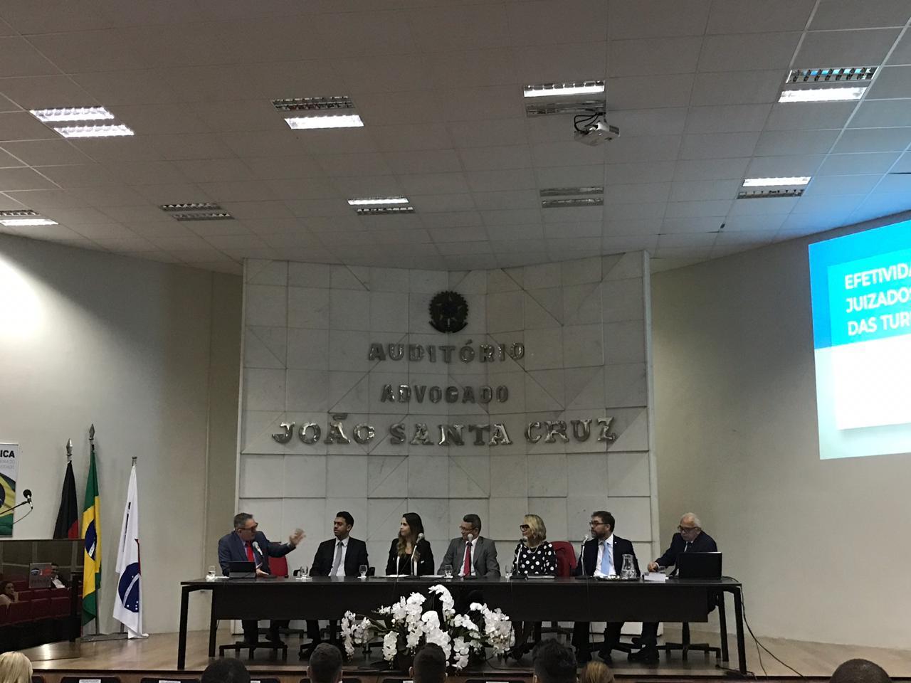 III Fórum de Debate sobre os Juizados Especiais Cíveis comemora 24º aniversário da lei 9.099/95 no auditório da OAB-PB