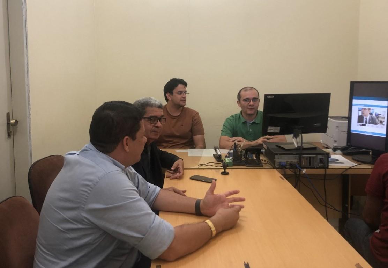 São Bento registra primeira audiência por videoconferência