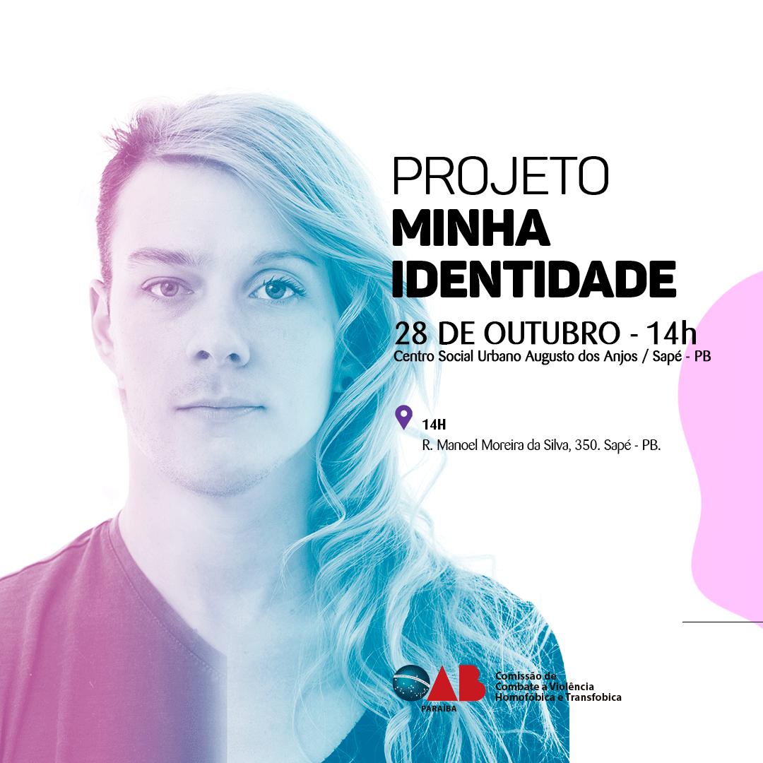 Comissão da OAB-PB realizará segundo mutirão para retificação de nome e gênero de pessoas trans em Sapé