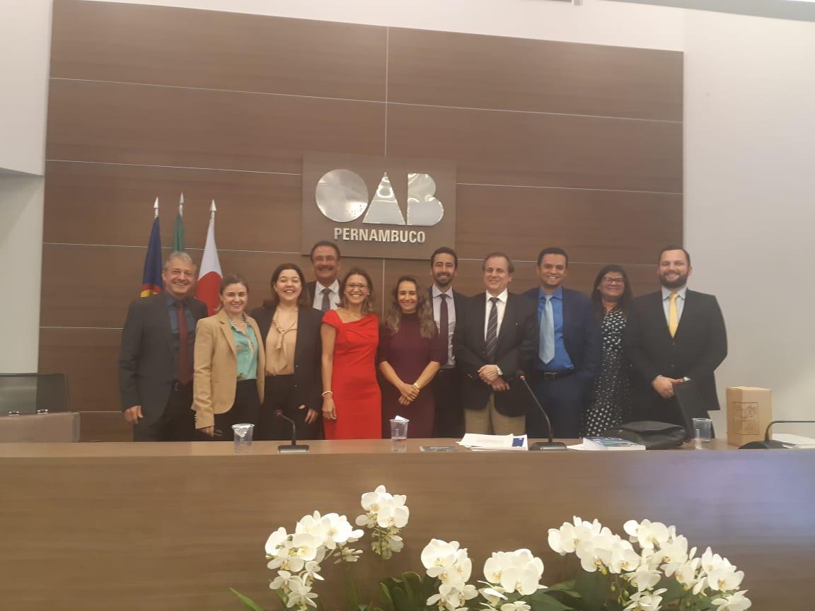 Comissão da OAB-PB participa do I Encontro da Advocacia Ambiental em Pernambuco