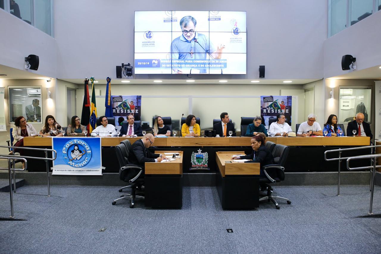 OAB-PB participa de Sessão Especial na AL e debate a importância dos 29 anos do ECA