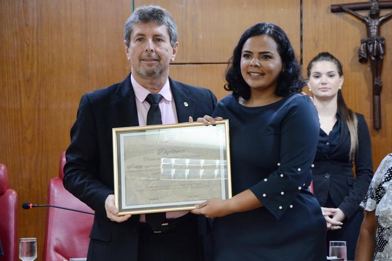 Conselheira da OAB-PB recebe Cidadania Pessoense pelos relevantes serviços prestados aos direitos humanos