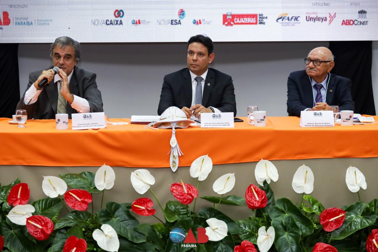 Encontro da Advocacia do Sertão debate inovação, empreenderorismo e administração pública