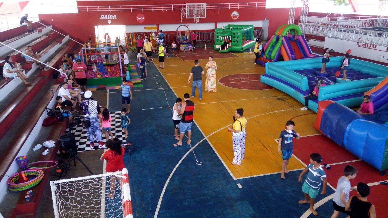 OAB-PB e CAA comemoram mês das crianças com muita diversão e alegria no clube Cabo Branco