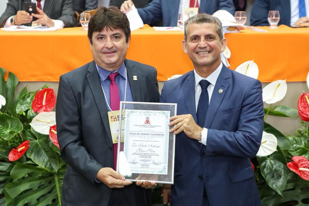 Paulo Maia e Odon Bezerra recebem título de cidadania de Cajazeiras