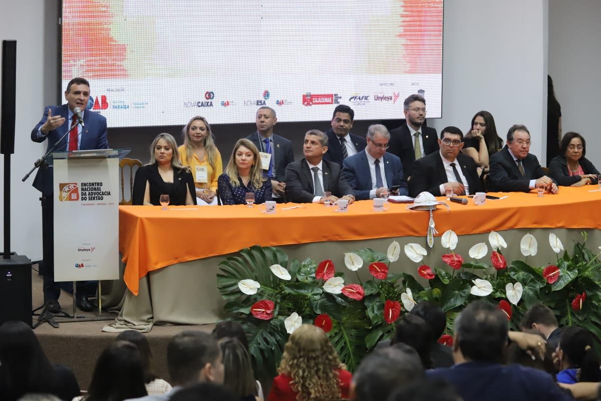 Painéis sobre ensino jurídico, prerrogativas, honorários encerram programação do III Encontro da Advocacia do Sertão