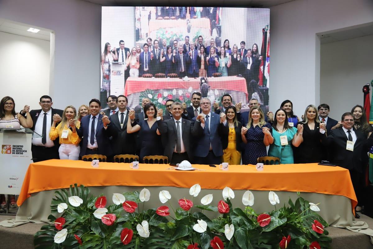OAB realiza ato público contra fechamento de comarcas e veto do MPPB a contratação de advogados