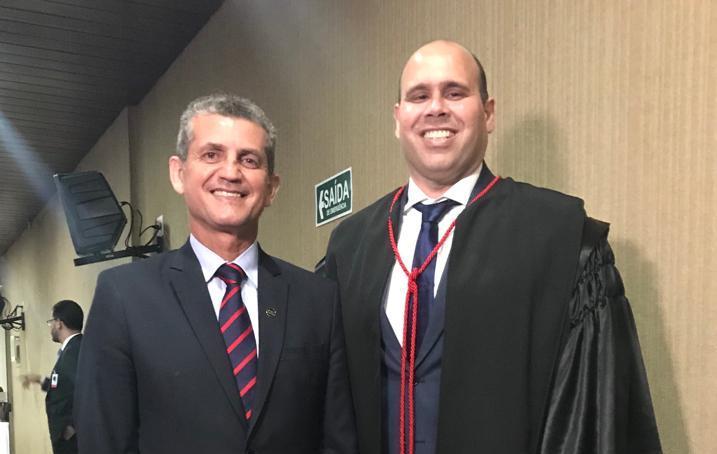 Paulo Maia participa da posse do advogado Marcio Maranhão como juiz do TRE-PB