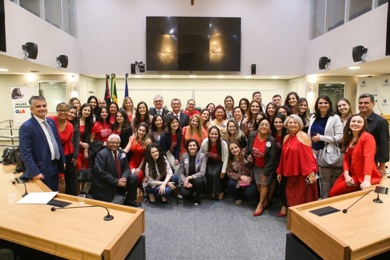 Rede de Mulheres Advogadas em Sororidade é homenageada pela ALPB