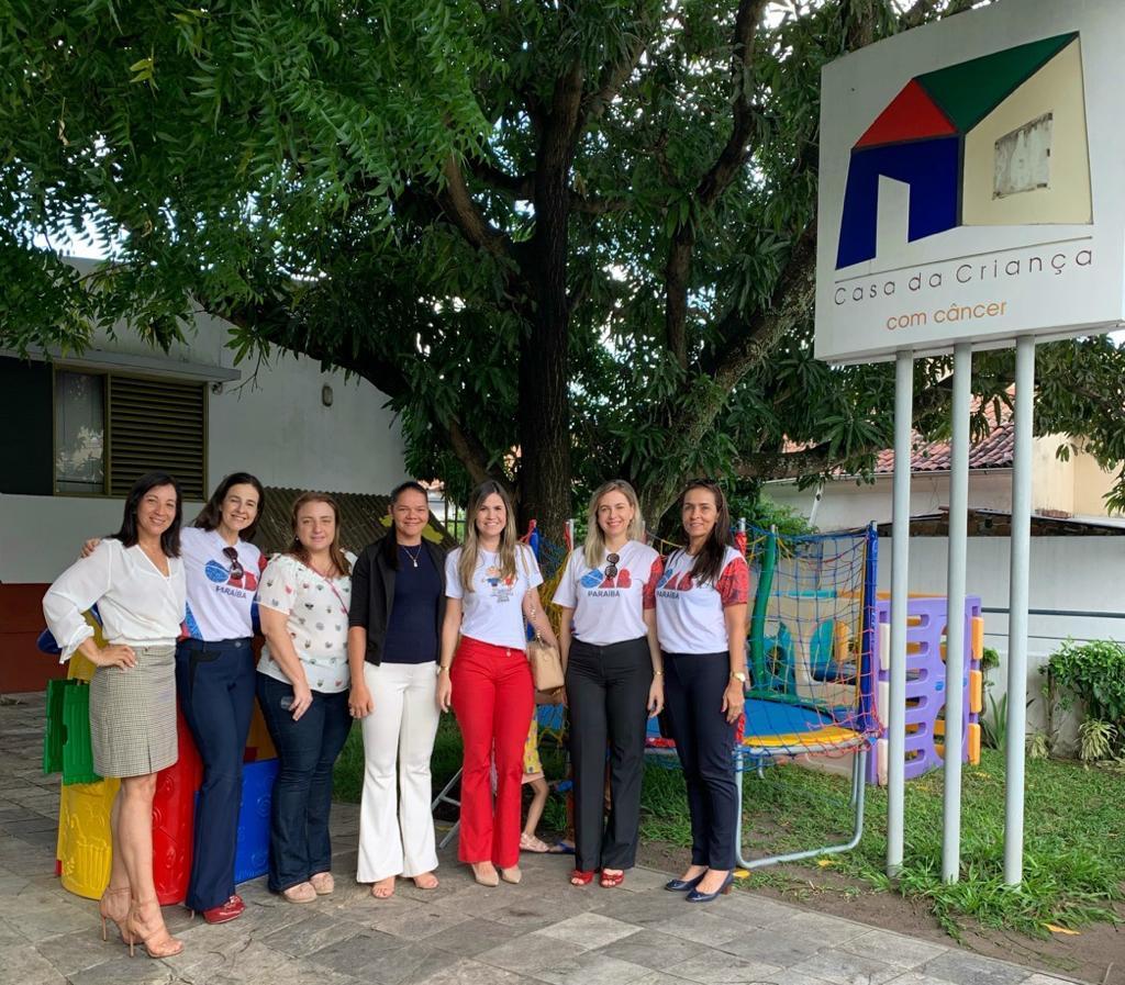 Comissão de Ação Social realiza doações para Associação Compaixão, Casa do Idoso e da Criança com Câncer