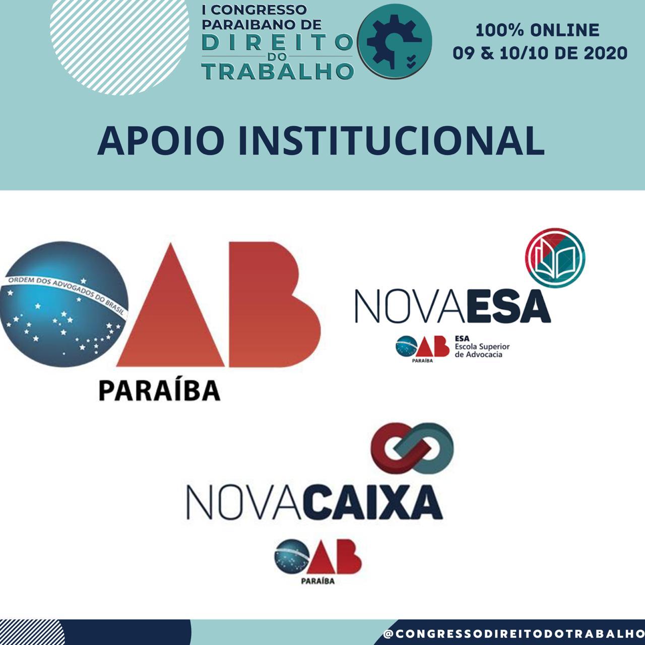 OAB-PB apoia I Congresso Paraibano de Direito do Trabalho