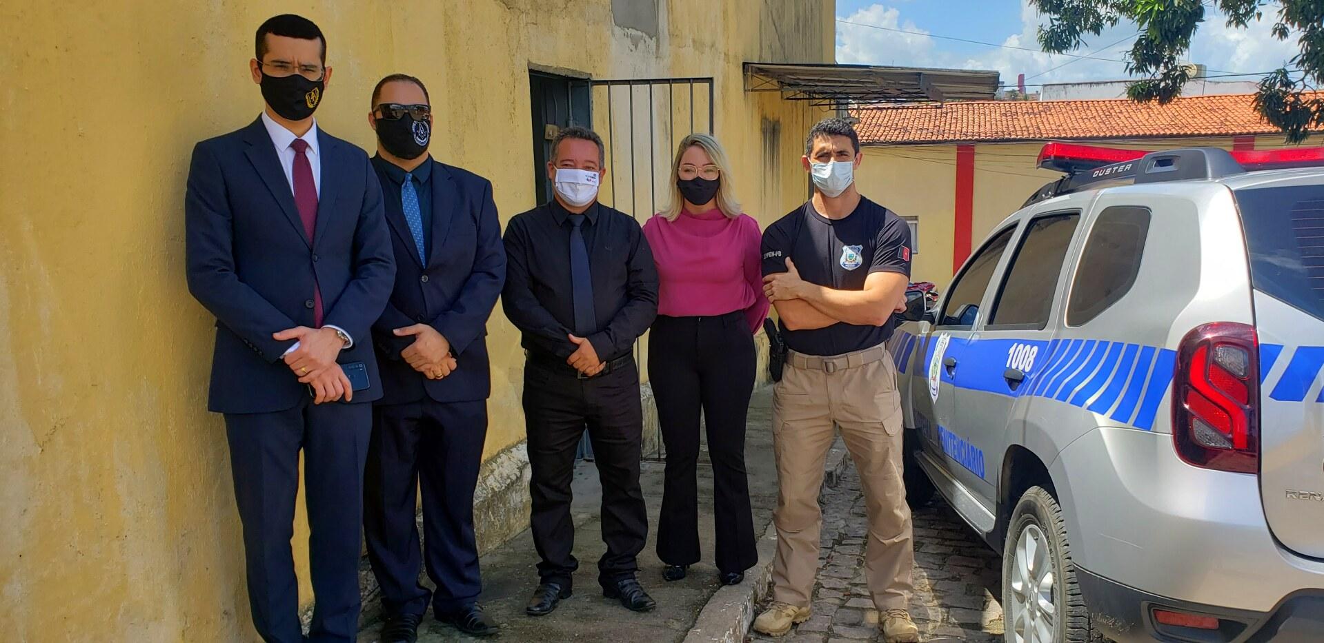 CAA-PB atende pleito da OAB-PB e constrói parlatórios na penitenciária de Guarabira e na cadeia de Bayeux