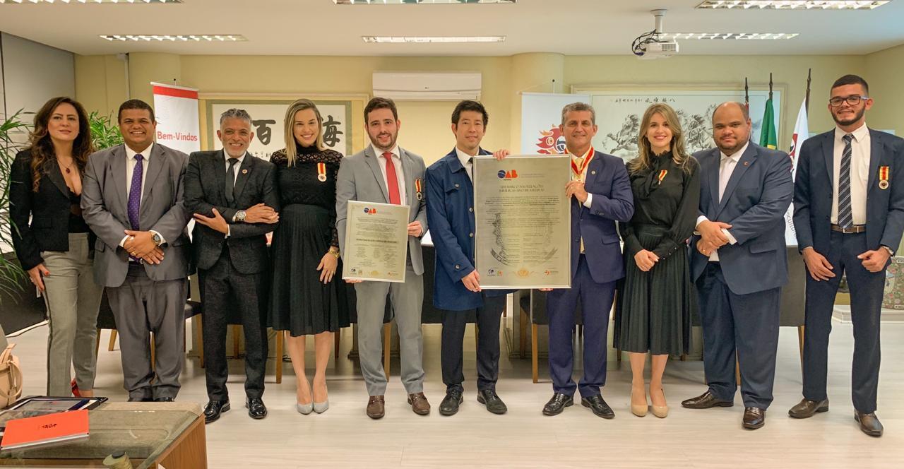 Integrantes da Comissão de Direito Internacional da OAB tomam posse na Coordenação Estadual das relações Brasil-China