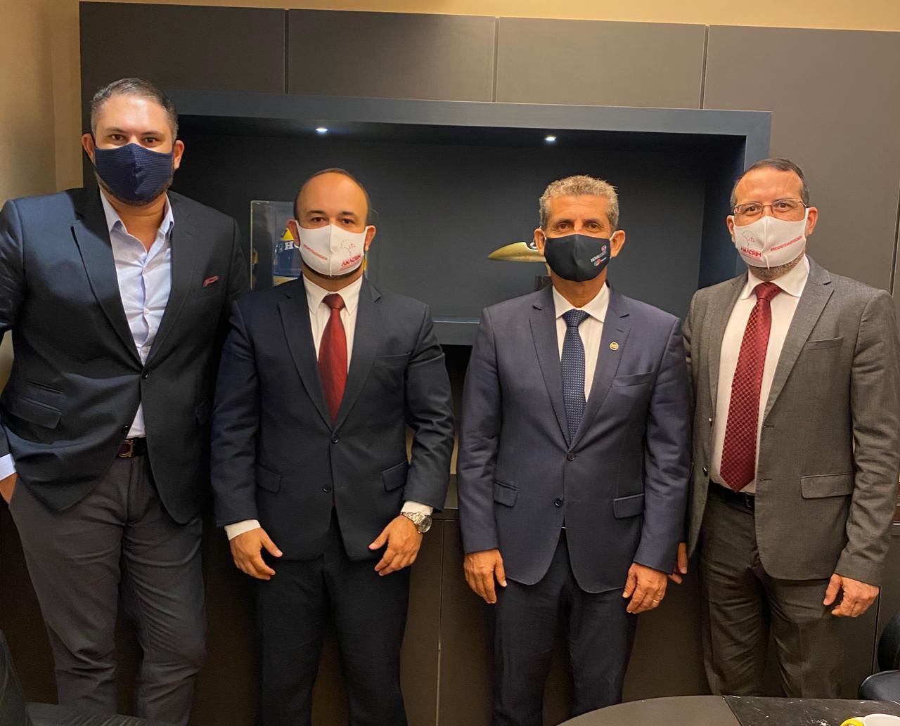 Presidentes da OAB-PB e da ANACRIM debatem desafios da advocacia criminal na Paraíba em 2021